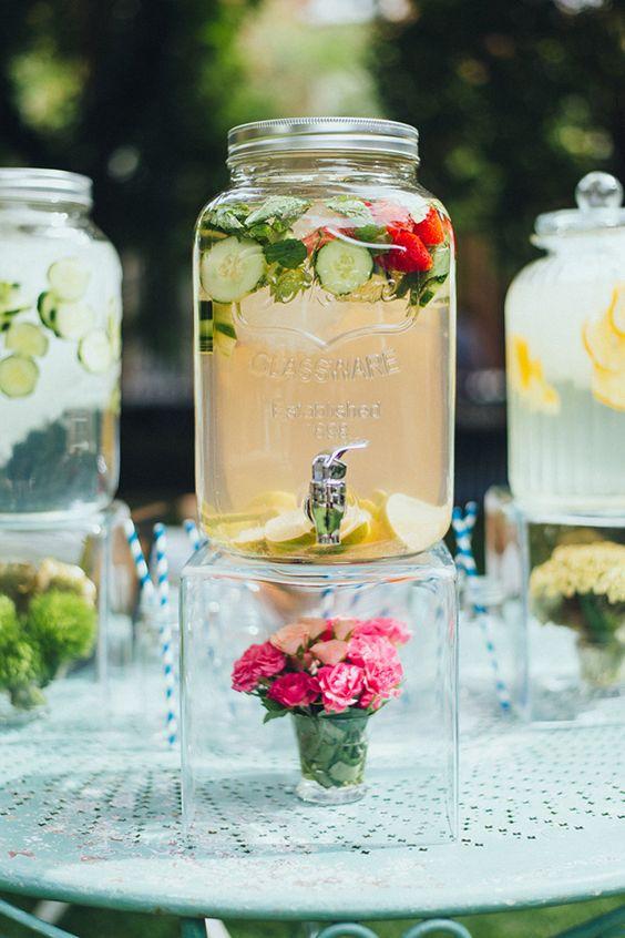 bar à eau-mariage-concombre
